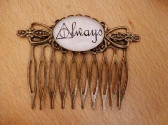 Harry Potter 'Always' Haircomb by KyraBothwell.