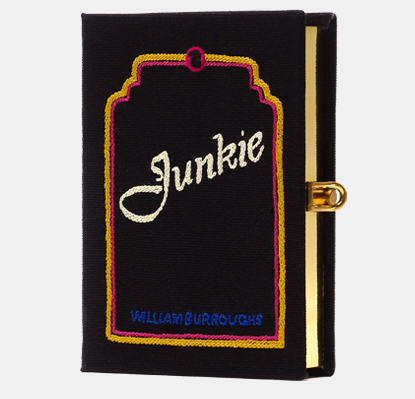 Junkie Book Clutch by Olympia Le Tan.